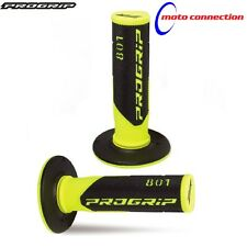 NEW PRO GRIP 801 FLUO YELLOW HANDLEBAR GRIPS BETA 250RR 300RR 2016