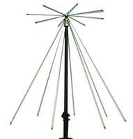 MFJ-1866 Vertical Discone Antenna, 25 - 1300MHz, SO-239 Connector