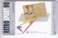 ANDORRE  TELECARTE / PHONECARD .. 100U AND92 SC7 SPORT FOOTBALL 06/98 PUCE C.10€