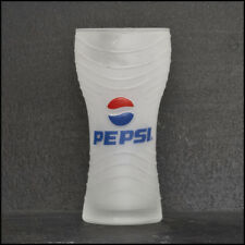 Pepsi Cola Frosted Glass