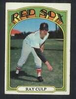 1972 Topps #2 Ray Culp VG/VGEX Red Sox 58352