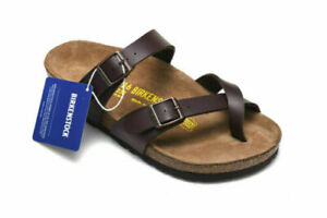 2021 Hot! Birkenstock Mayari Birko-Flor Sandals Men's Women's Shoes 35-46