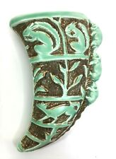 More details for vintage burleigh ware ceramic wall packet sconce squirrel & elephant design