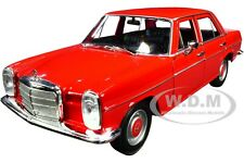 MERCEDES BENZ 220 RED 1/24 DIECAST MODEL CAR BY WELLY 24091
