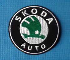 SKODA AUTO CAR YETI TOUR DE FRANCE LOGO SOW SEW ON IRON ON CAP PATCH BADGE