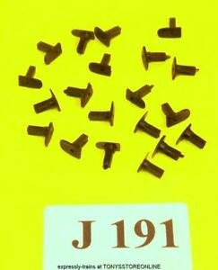j191 jouef ho/oo spares pack of 20 oblong headed square shank buffers