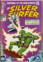 Silver Surfer # 2 - 1st Brotherhood of Badoon - STAN LEE JOHN BUSCEMA KEY ISSUE
