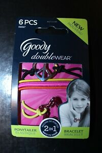 Goody Double Wear Ponytailer And Bracelet 2 In 1 Hair Bobble Brand New