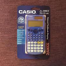 New & Sealed Casio fx-300ES PLUS Scientific Calculator 300BL-BTS16, Blue