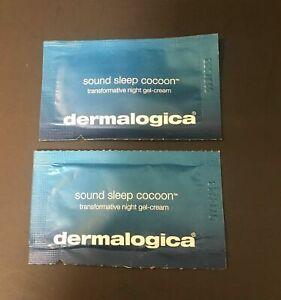 "8 Pack DERMALOGICA ""SOUND SLEEP COCOON"" NIGHT GEL-CREAM Sample size"