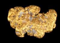 Matrix Specimen Genuine Calif. Alaska Natural Gold Nugget 1.56gr 12.09mm x 8.22m