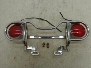 Harley Davidson CHROME LICENSE PLATE LIGHT KIT 1986-1999 Touring FLH/FLT FLHS