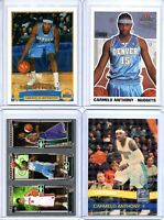 CARMELO ANTHONY 18 card lot Rookies #ed Relic RC Low # Inserts Nuggets