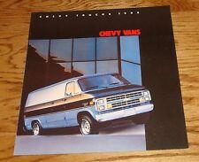Original 1985 Chevrolet Truck Chevy Vans Sales Brochure 85 Cutaway