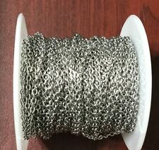 5 Feet Stainless Steel Cable Soldered Chain links- Beading Supplies