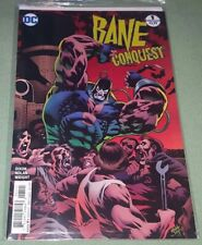 Bane Conquest #1 Kelley Jones Variant (2017) DC Comics