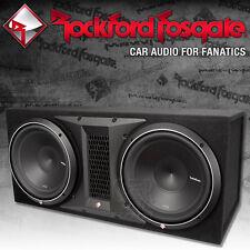 Rockford Fosgate Punch P2-2X12 Dual Gehäusesubwoofer 2x 30cm Bass Subwoofer
