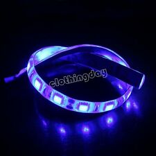 Blue modding PC Case led strip light 30cm 18 led long with molex connector