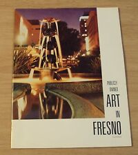 "RARE 1973 FULTON Mall GUIDE Booklet~""PUBLICY Owned ART in FRESNO""~REFERENCE~CA~"