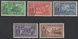 New Zealand 1936 Chamber of Commerce set Fine used (249a)