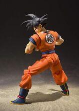S.H.Figuarts DRAGONBALL Z Son Goku Saiyan Grown On Earth Action Figure F/S
