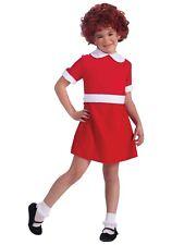 THE MUSICAL ANNIE Little Orphan Red Velvet-type Girls Dress-Up Costume Forum MED