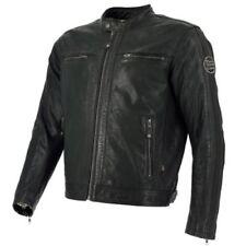 Blousons marrons Richa en cuir pour motocyclette