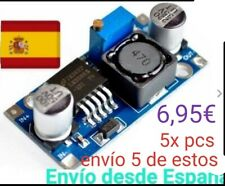 5x Convertidor DC 3A 1,25-32V Regulable LM2596 STEPDown Modulo Fuente Ardui