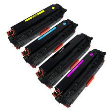 Remanufactured Toner Cartridge for HP COLOR LASERJET CP2025n - 4-Color Pack