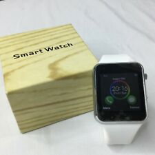 Smart Watch Bluetooth Apple Iphone Samsung Android Black MusicTexting Camera