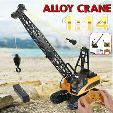 HuiNa Toy 1572 1/14 2.4G 15CH Alloy Crane Truck Engineering Vehicle RC Car RTR