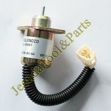 Fuel Shut Off Solenoid Valve 17594-60014 SA-4569T for Kubota Yanmar SynchroStart
