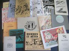 15 RARES PUBLICATIONS DES AMIS DE PELLOS EN ÉTAT NEUF - TIBERI MARIJAC FRONVAL !