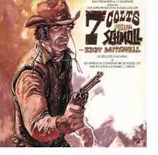 CD EDDY MITCHELL 1998 7 COLTS POUR SCHMOLL  jaquette origine réédition