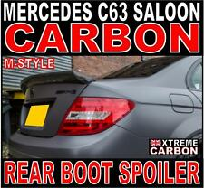 Mercedes C Class W204 Saloon M-Style Carbon Ducktail Rear Boot Spoiler C63 DTM