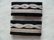 10 passants rectangle fin argent mat pour cordon plat 10mm Neuf