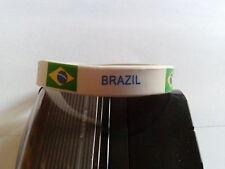 bracelet Brésil,Brazil en silicone