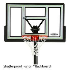 "46"" NBA Portable Basketball Hoop With Polycarbonate Backboard Adjustabl"