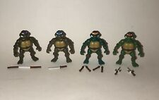 "Lot of 2015 TMNT Classic Collection 2"" Mini Figures with Accessories"