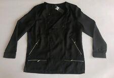 G - Star Damen Bluse Shirt Größe L schwarz Neu mit Etikett.