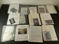 Lot Of Vintage Tole Painting Patterns