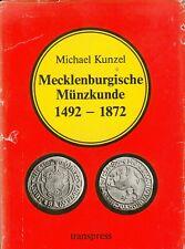 Mecklenburgische Münzkunde 1492-1872, Michael Kunzel, transpress - Flemming