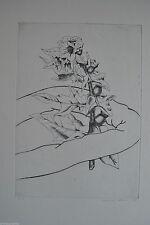 Original-Radierungen (1950-1999) aus Europa mit Blumen- & Pflanzen-Motiv