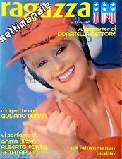 Ragazza IN 1979 - Poster Donatella Rettore - Giuliano Gemma - AE-29