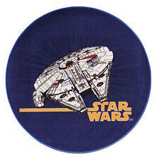 STAR WARS Teppich / Teppich STAR WARS SW-77 / 100cm rund / Raumschiff Teppich