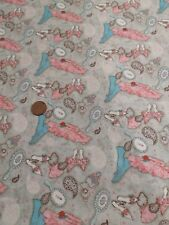 100% Cotton frou frou ladies vintage clothes clothing Quilting craft spx fabrics