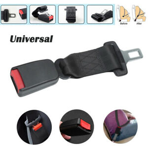 "9'' Car Seat Seatbelt Adjustable Safety Belt Extender Extension 7/8""Buckle Baby"