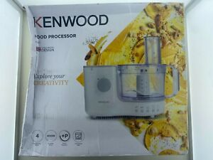 Kenwood FP120 1.4L Compact 400W Food Processor - White (See Description)