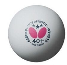 Butterfly Tournament Exclusive 12 Pack Ping Pong Balls/Table Tennis FREE Ship