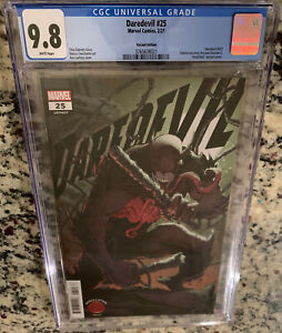 CGC 9.8 - Daredevil #25 ELEKTRA IS DD Marvel Comic Lashley Knullified Variant NM